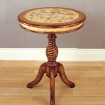 Hand Painted Floral Accent Table Overstock Shopping Great Deals