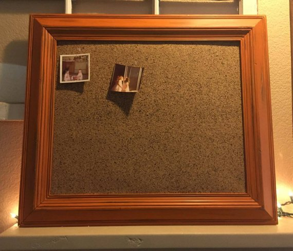 Hand Painted Framed Cork Board Ilycustomcreations