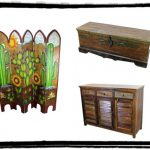 Hand Painted Furniture Mexican Rustic Home Decor