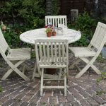 Hand Painted Garden Furniture Scandinavian Designer