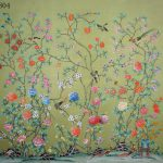 Hand Painted Silk Wih Rice Paper Back Aliexpress Alibaba