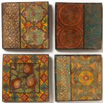 Hand Painted Terracotta Tile Natural Collection