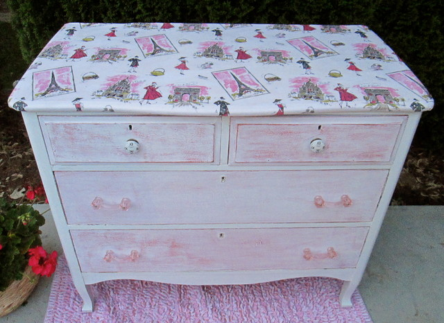 Hand Painted Vintage Dressers Traditional New York Monet