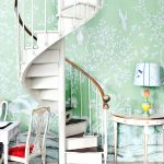 Hand Painted Wall Murals Staircase Traditional