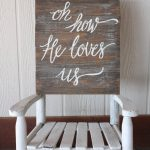 Hand Painted Wooden Sign Loves Ready