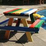 Hardwood Painted Junior Picnic