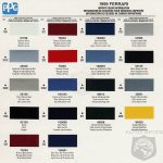 Harley Davidson Color Chart Autos