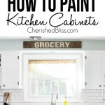 Have Ugly Kitchen Cabinets Need Makeover Tutorial Shows