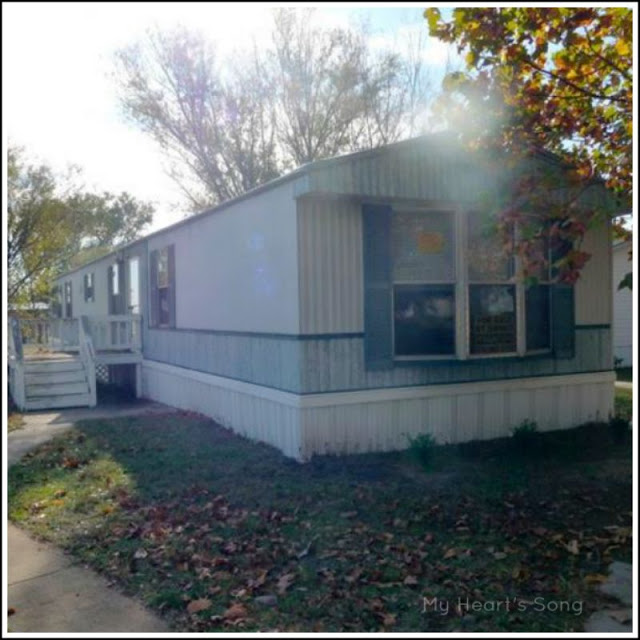 Heart Song Mobile Home Exterior Before