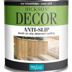 Hickson Anti Slip Decking Paint Clear New