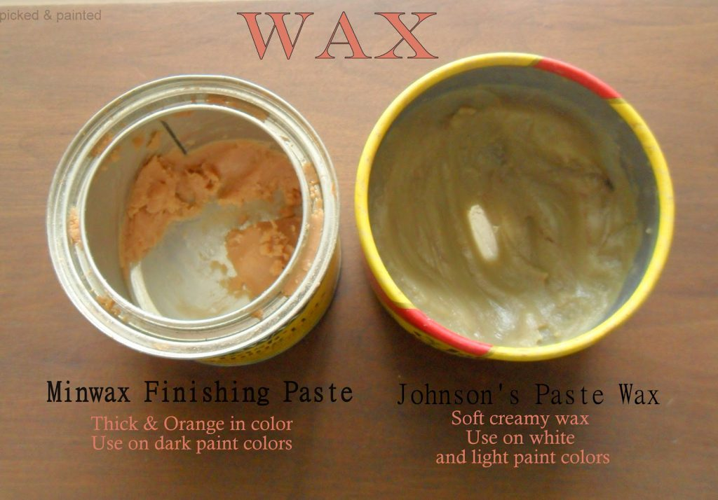 High Furniture Wax Over Paint