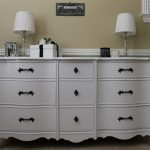 High Paint Wood Furniture Painting White