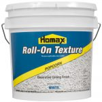 Homax Gal White Popcorn Roll Texture Decorative Ceiling Finish Home