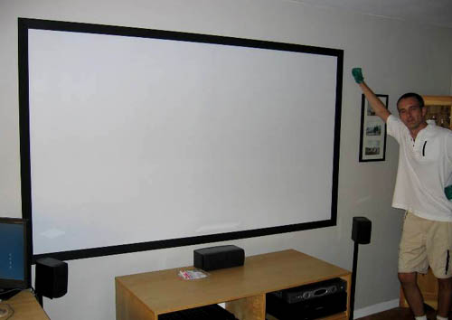 Home Theater Projector Screen Paint Reviews