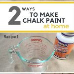 Homemade Chalk Paint Easy Yourself Project Grillo