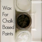 Homemade Wax Chalked Based Paints Country Design