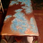 Hometalk Faux Azul Copper Table Top
