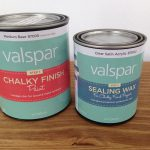 Hometalk Furniture Makeover Using Valspar New Chalky Finish