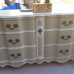 Hometalk Hand Painted Vintage Buffet