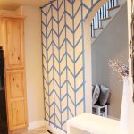 Hometalk Herringbone Pattern Accent