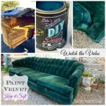 Hometalk Paint Upholstery Keep Fabric Soft Even
