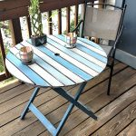 Hometalk Patio Table Chalk Paint