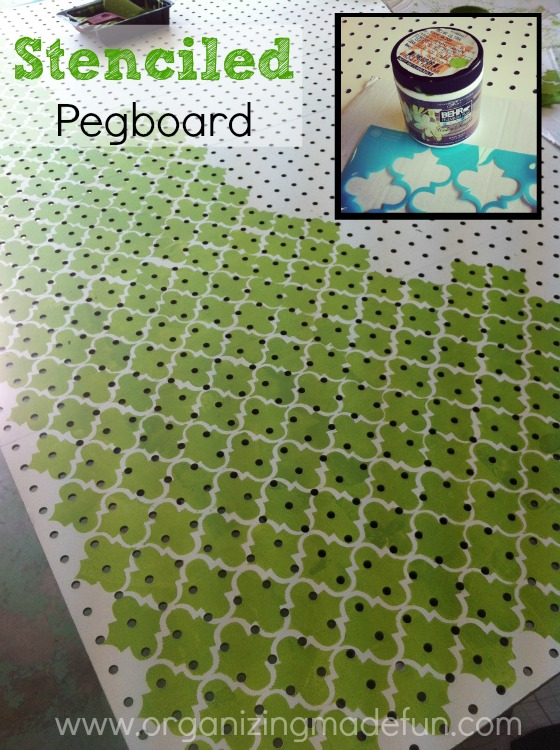 Hometalk Put Pegboard Block Wall Cover Ugly