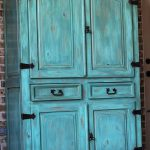 Hometalk Rustic Armoire Restyled Into Outside Oasis