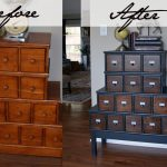 Hometalk Vintage Style Apothecary Cabinet Before