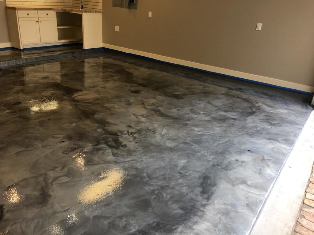 Houston Epoxy Garage Floors Coatings Mastic