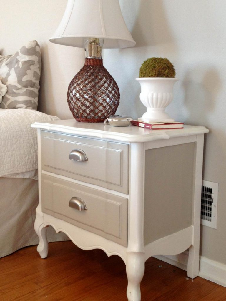 Ideas Updating Old Bedside Tables