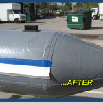 Inflatable Boat Top Side