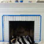 Inside Fireplace Paint Brick Anew