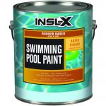 Insl Gal Satin Ocean Blue Swimming Pool Paint Home