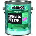 Insl Gal Semi Gloss Acrylic Black Waterborne Swimming Pool Paint Home