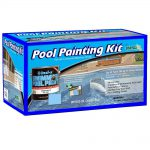 Insl Waterborne Gal Ocean Blue Swimming Pool Paint Kit Cleaner Instructional