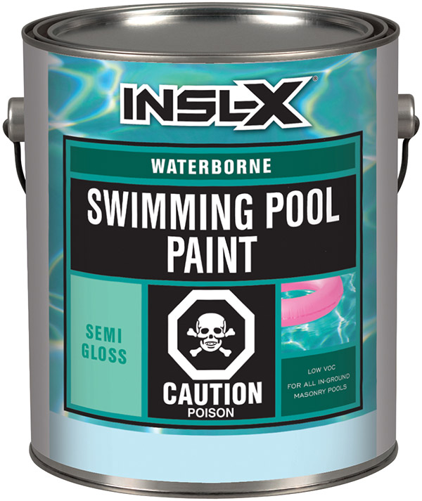 Insl Waterborne Swimming Pool Paint