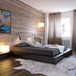 Interesting Natural Colors Bedroom Design