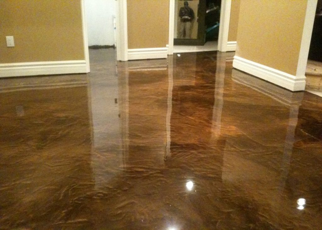 Interior Floor Painting Idea Nuance Selecting Color