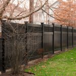 Interior Give Your Black Fence Paint New Facelift Through These Simple Makeover Ideas