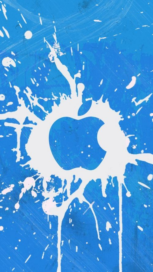 Iphone Apple Paint Splash