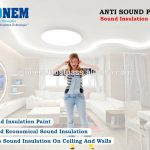 Isonem Anti Sound Paint Insulation Proof