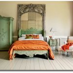 Italian Green Painted Bedroom