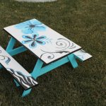 Items Similar Hand Painted Children Picnic Table