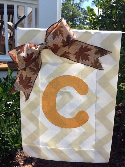 Items Similar Lawn Flag Outdoor Fabric Paint Bow