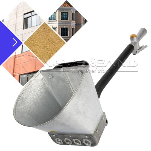 Jet Cement Mortar Sprayer Hopper Stucco Spray Gun Concrete Tool Paint Wall New
