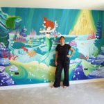 Joanna Perry Murals Hand Painted Wall Mural