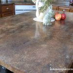 Kammy Korner Ed Faux Granite Counter Tops Diy Chalk