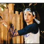 Karate Ralph Macchio Signed Paint Fence