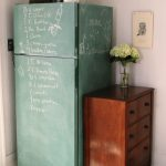 Keep Smiling Chalkboard Fridge Kitchen Ceiling